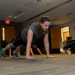 An exercise routine you can do at the office