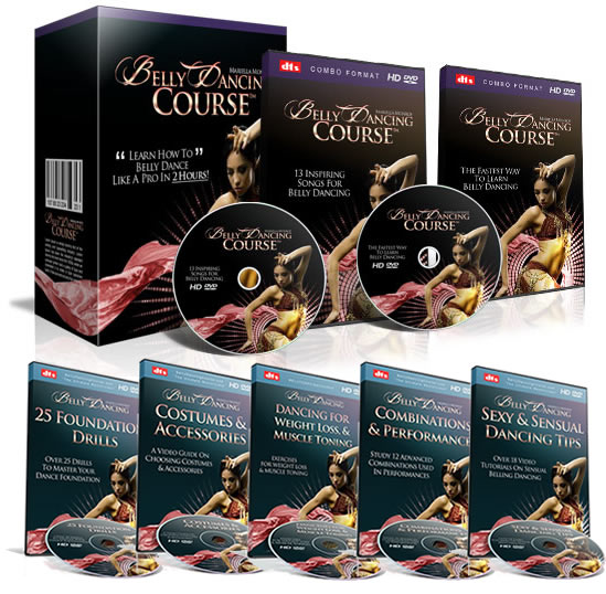 Belly Dancing Course with Mariella Monroe Review